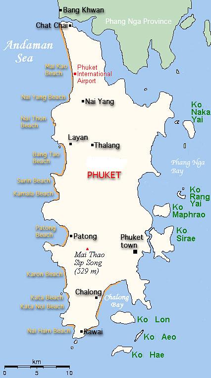 Phuket Beach Guide