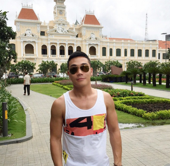 Cute Asian Traveler Gay Bangkok Thailand