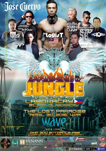 Jungle Circuit Party Boracay Gay Travel Guide 2