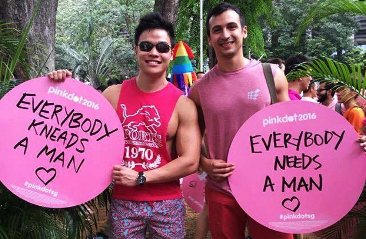 Dwayne Instagram Influencer Pink Dot Singapore LGBT Event