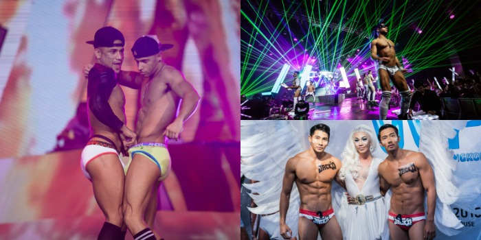 White Party Bangkok 2017 Boys