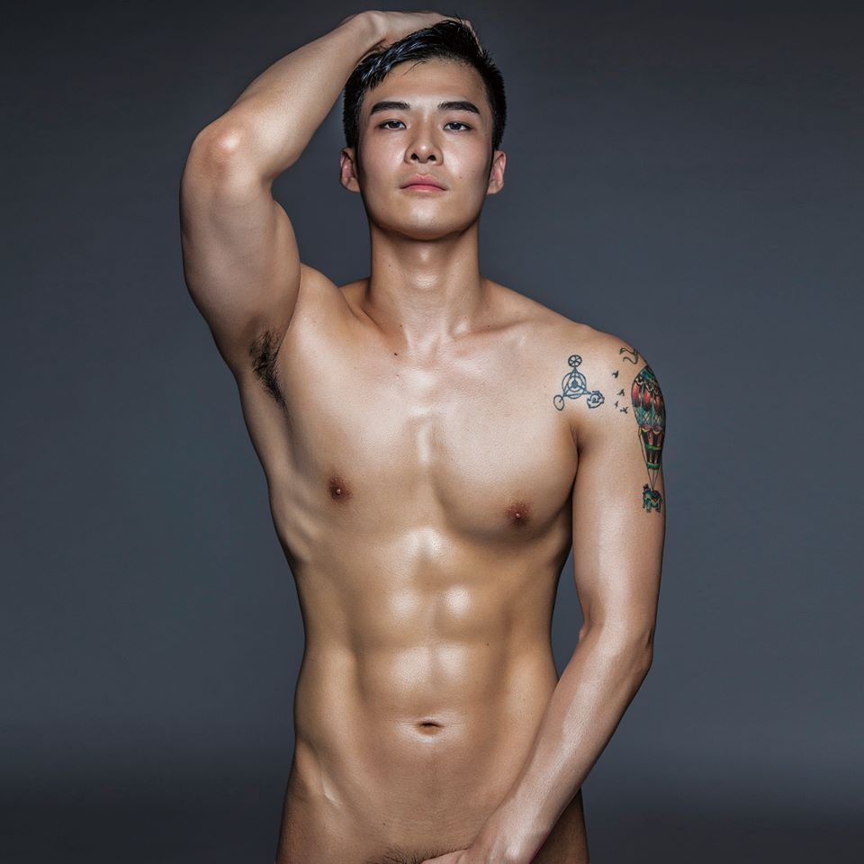 Male naked asian-9314