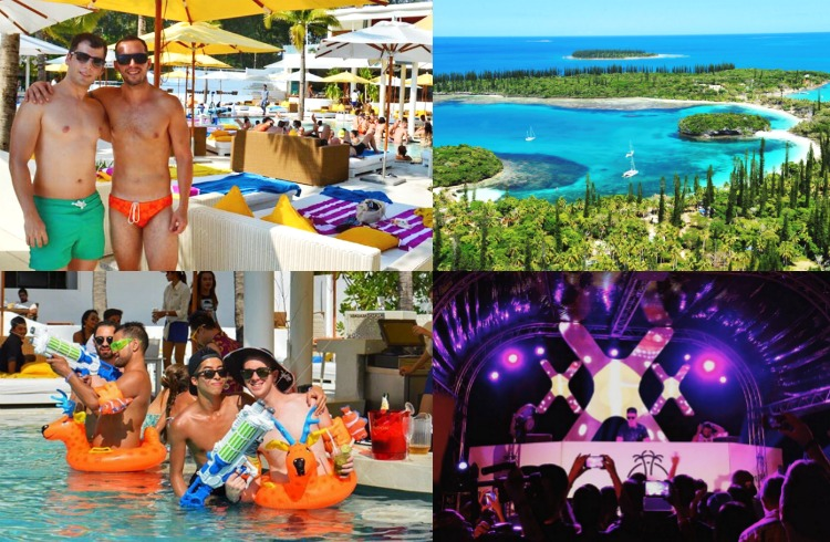 Tropout Gay Beach Festival in New Caledonia Luxury Gay Party & Event