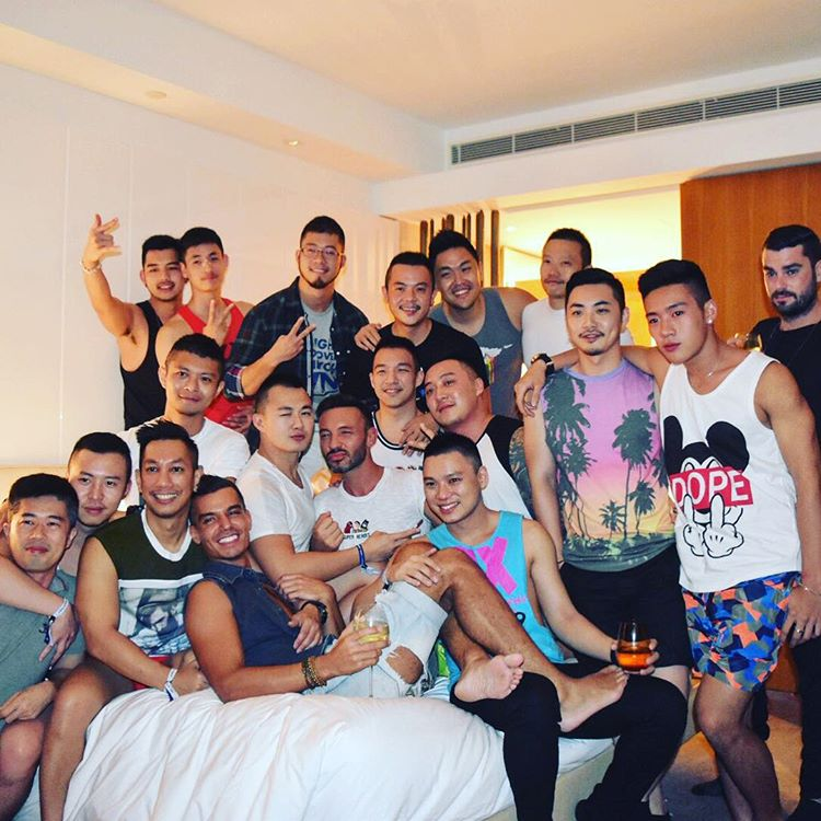 Guys Get Together before Taipei Gay Pride at Gay Friendly Hotels in Taiwan