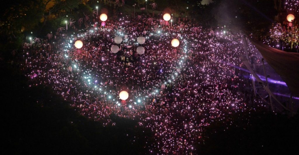 Pink Dot Top Gay Event Singapore