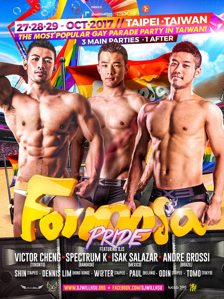 Formosa Pride Taipei 2017 Biggest Gay Asia