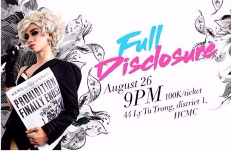 Full Disclosure Parody Night Party in Ho Chi Minh City Latest Update