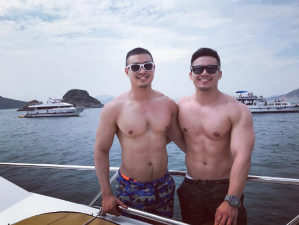 Hot Gay Couple on Instagram Argentino & Elvin