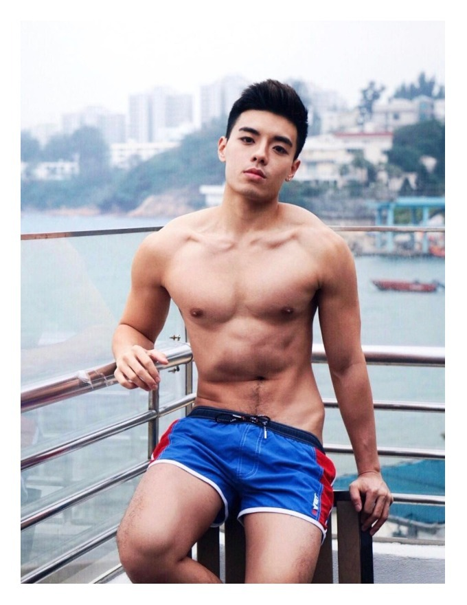 Hot Asian Man Dawn Hong Kong
