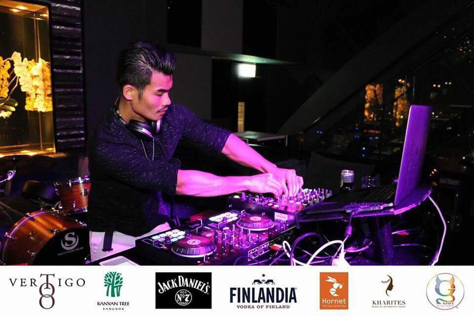 DJ Tackthai Gay Party Bangkok G-Spot Ent