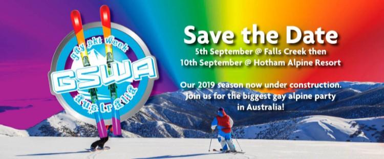 Gay Ski Week Australia Poster