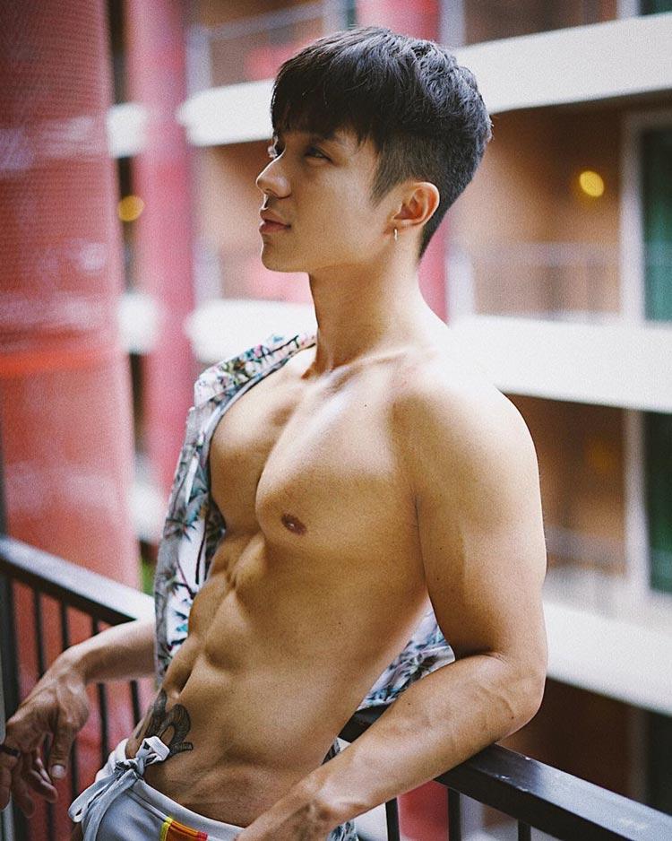 hot asian man andrew_yogi