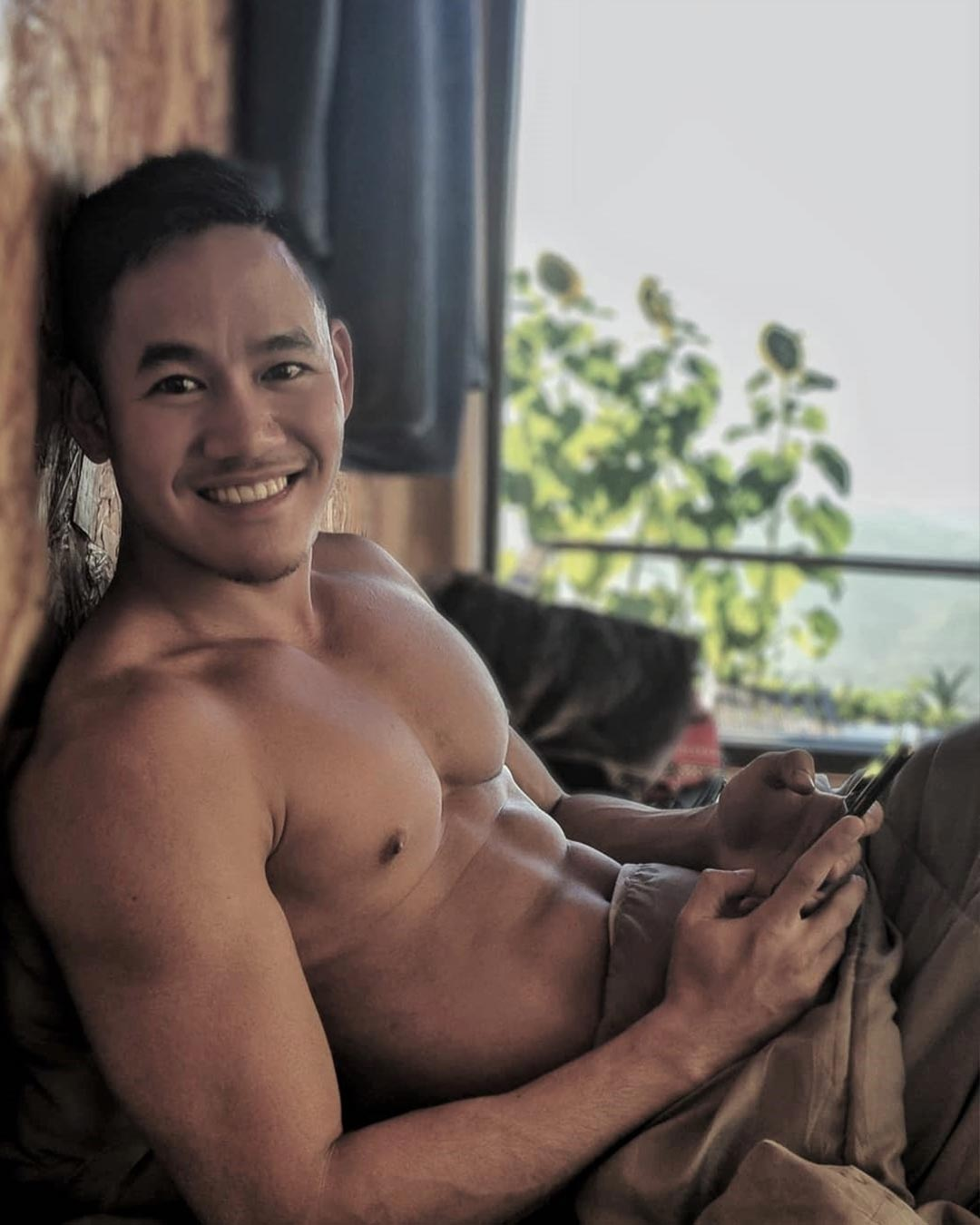 nik nik hot thai man white party bangkok ambassador