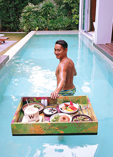Hovinhkhoa rhoneerojas W Pool Villa Breakfast