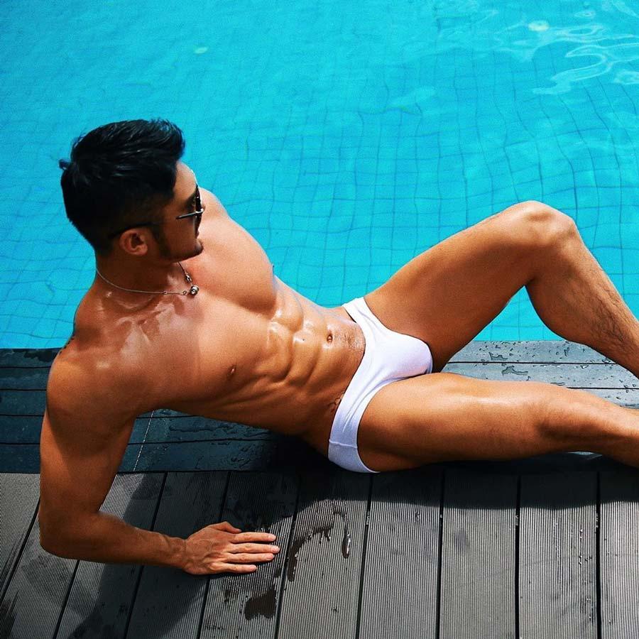 Hot-Gay-Chinese-Men-White-Party-Bangkok-Ambassador-@jasonjun888