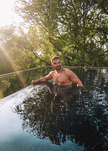 Small-Unique-Luxury-gay-Hotel-Infinity-Pool-X2-Chiang-Mai-Riverside-Resort