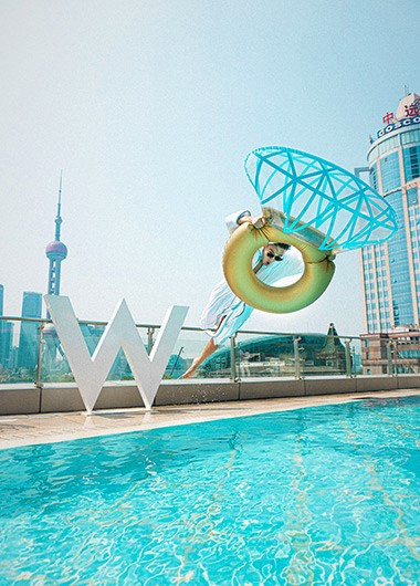 Gay-Friendly-Hotel-with-Rooftop-Pool-W-Shanghai