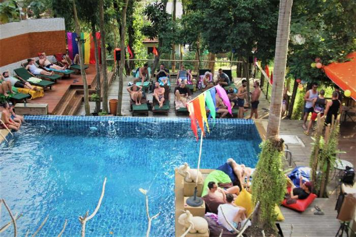 Gay Friendly Hotel Alpha Gay Resort & Spa - Gay Men Only (Pet-friendly) Koh Samui