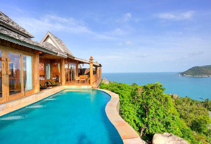 Gay-Honeymoon-Perfect-Private-Infinity-Pool-Villas-Koh-Phangan-Santhiya-Resort-&-Spa