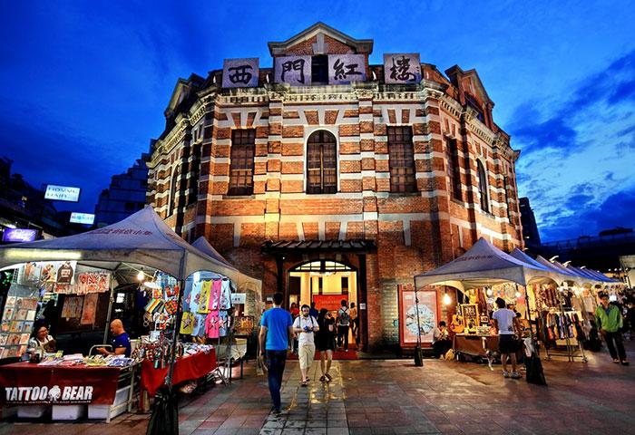 The-Red-House-Taipei-Gayborhood-in-Ximending-Tourist-Hotspots