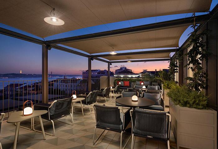 Best-Romantic-Honeymoon-Hotel-with-Rooftop-Restaurant-Near-Gay-Nightlife-Bairro-Alto-Hotel