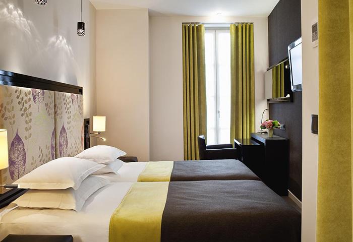 Cheap-Comfy-Room-Gay-Hotel-Paris-in-Marais-Gayborhood-Hotel-Caron