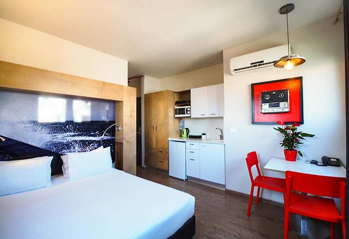 Gay Friendly Hotel Ben Yehuda Apartments Tel Aviv