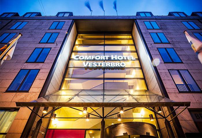 Gay Friendly Hotel Comfort Hotel Vesterbro