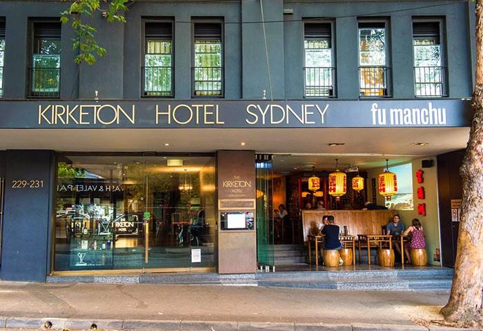 Gay Friendly Hotel Kirketon Hotel Sydney Sydney