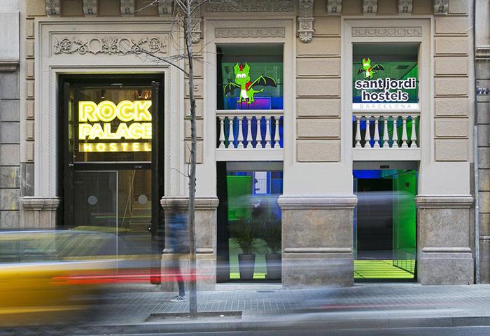 Top-Gay-Hostel-Barcelona-Near-Gay-Clubs-and-Gay-Sauna-Sant-Jordi-Hostels-Rock-Palace