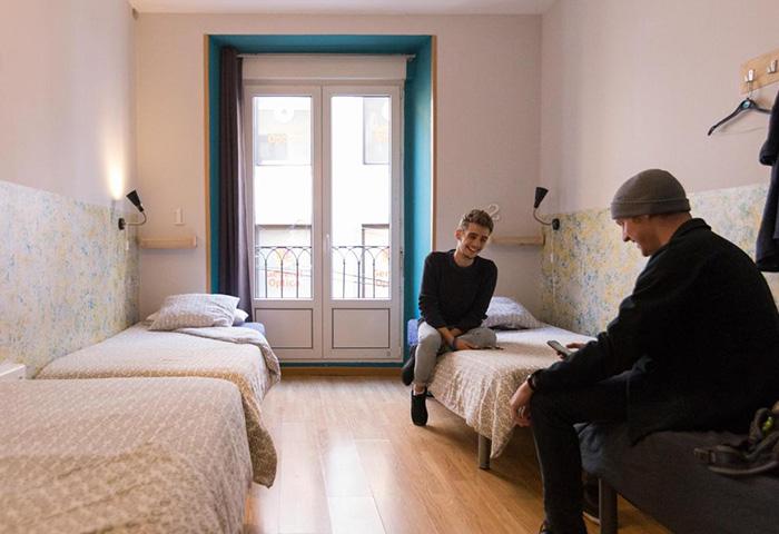 Top-Gay-Hostel-Madrid-near-Gay-Club-in-Chueca-and-Gran-Via-Sungate-One
