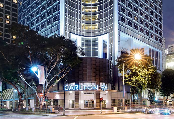 Gay Friendly Hotel Carlton Hotel Singapore