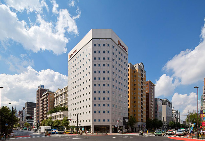 Gay Friendly Hotel E-Hotel Higashi Shinjuku Tokyo