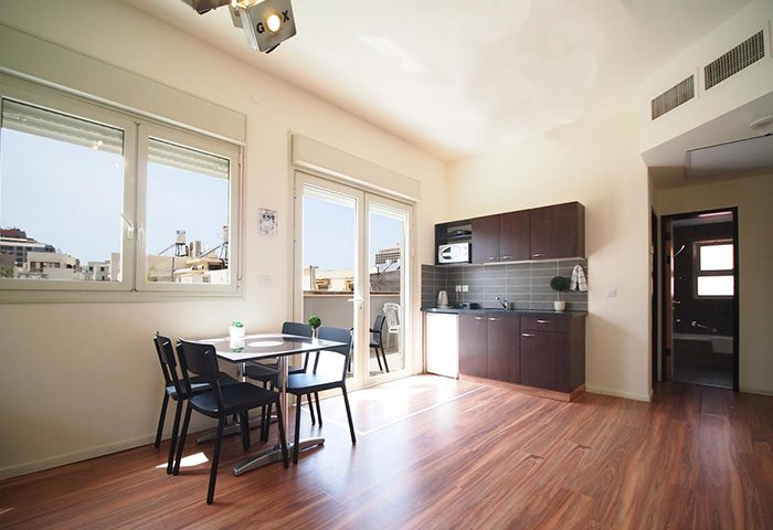 Ben-Yehuda-Apartments-Gay-Hotel-Tel-Aviv-Two-Bedroom-Apartment-Penthouse-for-6-People