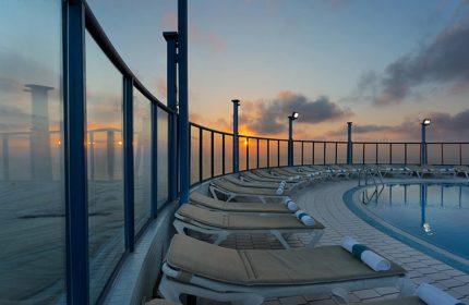 Best-Gay-Hotel-Tel-Aviv-with-Rooftop-Pool-in-City-Center-Gayborhood-Isrotel-Tower