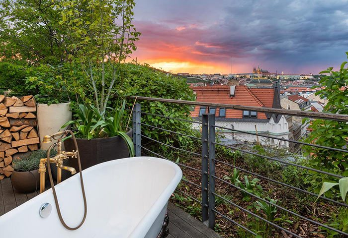 Best-Gay-Hotels-Prague-Old-Town-with-Private-Balcony-Bathtub-Mosaic-House