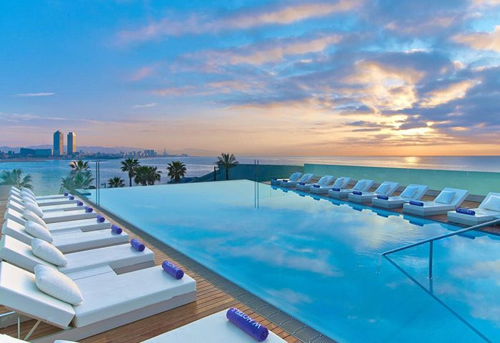 Best-Rooftop-Pool-Hotel-for-Gay-Traveler-W-Barcelona