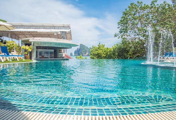Cheap-Gay-Hotels-with-Rooftop-Pool-Ton-Sai-Beachfront-PP-Princess-Resort