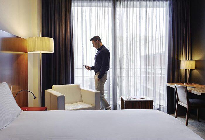 Cheap-Price-Gay-Hotel-Barcelona-Walking-distance-to-Mar-Bella-gay-beach-Pullman-Barcelona-Skipper-Hotel