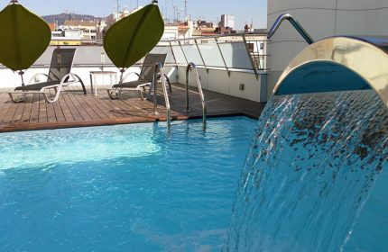 Cheap-Price-Gay-Serviced-Apartment-Barcelona-with-Rooftop-Pool-Ako-Suites-Hotel