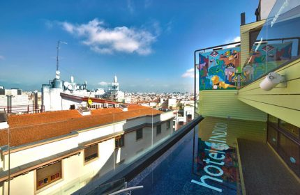 Excellent-Location-Gay-Hotel-Madrid-with-Rooftop-Pool-Hotel-Indigo-Madrid-Gran-Via