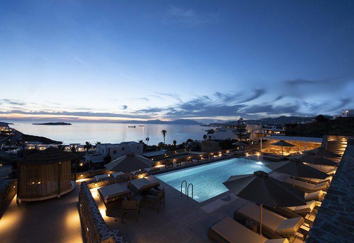 FInd-Cheap-Luxury-Beachfront-Gay-Hotel-Mykonos-Town-with-Pool-Mykonos-Bay-Resort-&-Villas