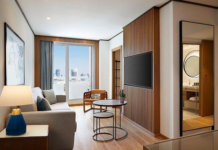 FInd-Luxury-Gay-Hotel-Room-for-3-People-on-Hilton-Gay-Beach-Sheraton-Tel-Aviv-Hotel