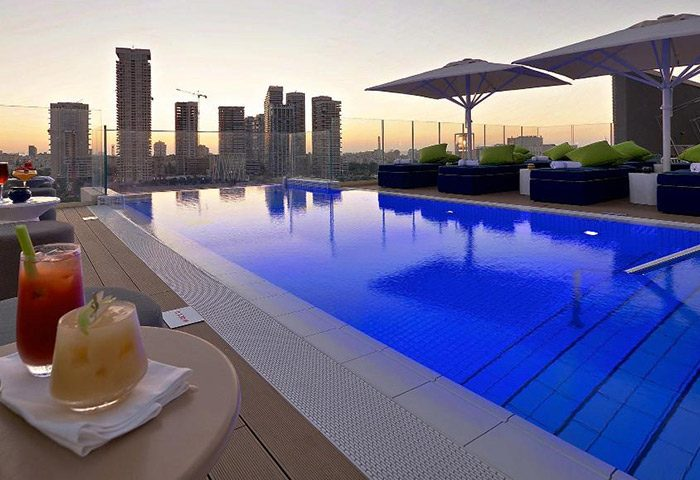 Find-Cheap-Upscale-Gay-Hotel-with-Rooftop-in-Tel-Aviv-City-Center-Hotel-Indigo-Diamond-District