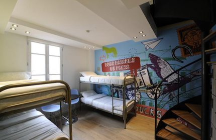 Fun-Party-Hostel-for-Gay-Travellers-The-3-Ducks-Eiffel-Tower-by-Hiphophostels