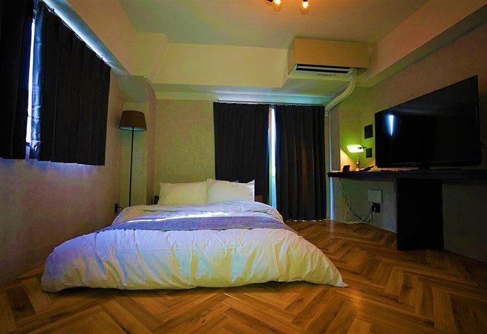 Gay Friendly Hotel Book Tea Bed SHINJUKU-GYOEN