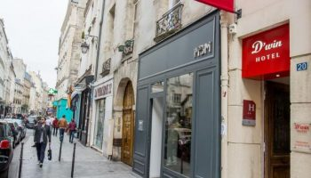 Gay Friendly Hotel Hotel Dwin (Pet-friendly) Paris