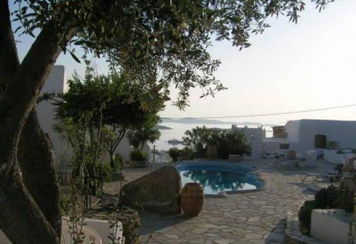 Gay Friendly Hotel La Veranda of Mykonos Traditional Guesthouse Greece
