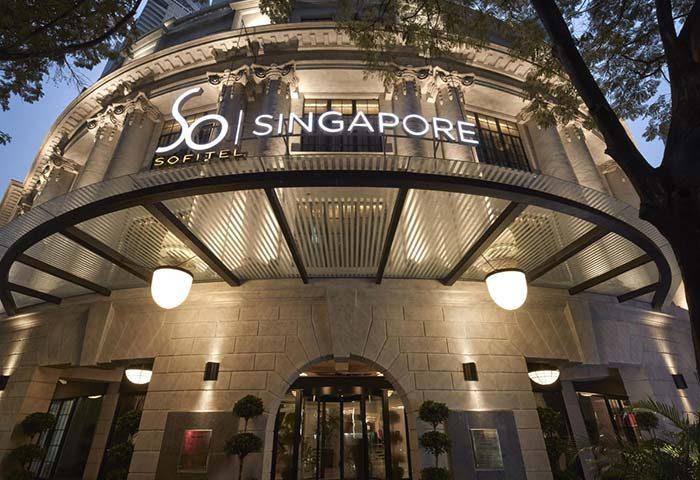 Gay Friendly Hotel SO/ Sofitel Singapore