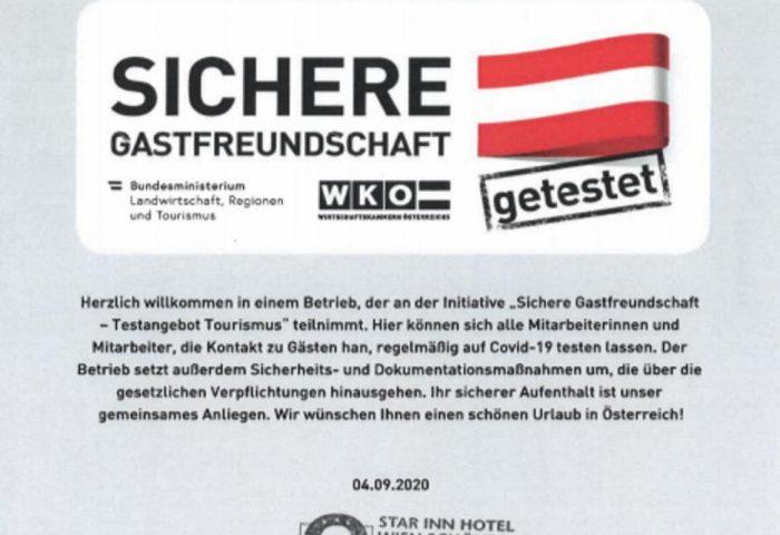 Gay Friendly Hotel Star Inn Hotel Wien Schönbrunn Austria